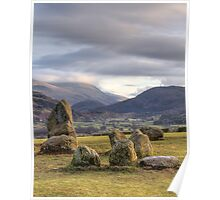 Castlerigg at Sunset Poster