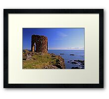Lady`s Tower at Elie Framed Print