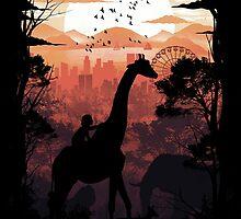 From Jungle to City by Dan Elijah Fajardo