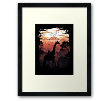 From Jungle to City Framed Print