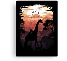From Jungle to City Canvas Print