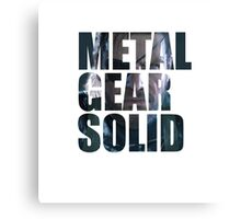Big Boss from Metal Gear Solid: Ground Zeroes Canvas Print
