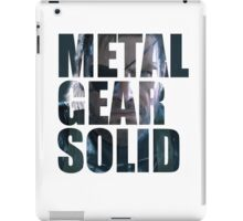 Big Boss from Metal Gear Solid: Ground Zeroes iPad Case/Skin