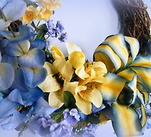 Yellow and Blue by WeeZie