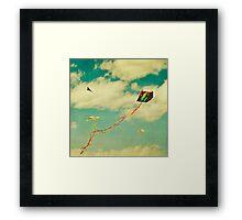 """Let's Go Fly a Kite"" Framed Print"