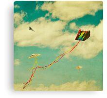 """Let's Go Fly a Kite"" Canvas Print"