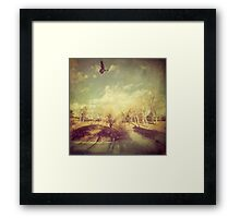 """""""The Lone One"""" Framed Print"""