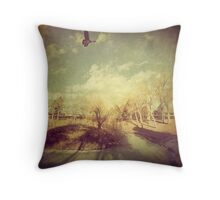 """The Lone One"" Throw Pillow"