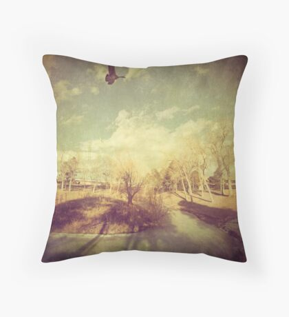 """""""The Lone One"""" Throw Pillow"""