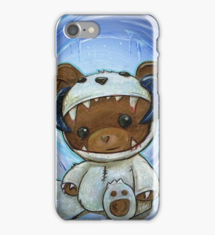 Mr. Chompypants meets a Wampa iPhone Case/Skin