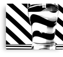 Zebra juice No3 Canvas Print