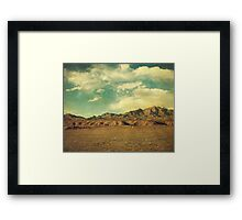 """The Big Empty"" Framed Print"