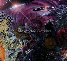 Red Skyz N da Black Sea by Aestheticz .