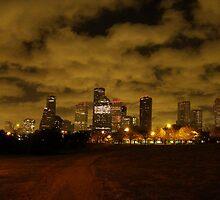 Downtown Houston by warrbarrt