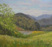 Ford's Pond in Spring by Karen Ilari