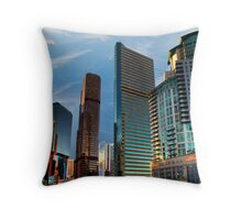 """Illuminate Downtown"" HDR Throw Pillow"