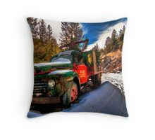 """Rusted Beauty"" Throw Pillow"