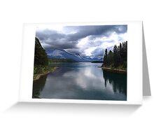 Beautiful Lake Maligne Greeting Card