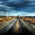 """Keep Off the Tracks"" HDR by eleven12design"
