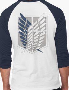 Attack on titan: Surveying Corps Men's Baseball ¾ T-Shirt