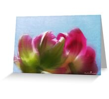 Tulip view Greeting Card