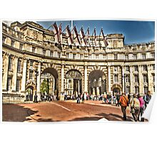 Admiralty Arch  Poster