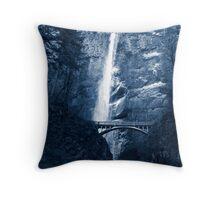 Multnomah Falls // Oregon Cascade Throw Pillow
