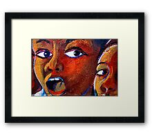 Amazed! Framed Print