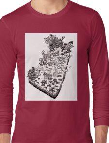 Whimsical Garden Patch Long Sleeve T-Shirt