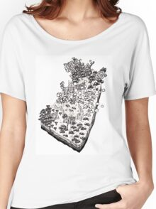Whimsical Garden Patch Women's Relaxed Fit T-Shirt