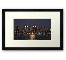 Across The Hudson Framed Print