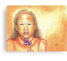 Little Doll Canvas Print