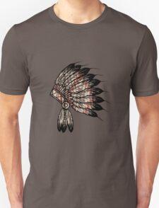 Native American Headdress Unisex T-Shirt