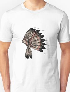 Native American Headdress Unisex T-Shirt