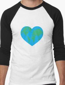 Earth Love Men's Baseball ¾ T-Shirt