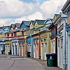 A Pretty Street in the Beach Area of Toronto, ON, Canada by Gerda Grice