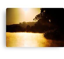 Sunrise near Mannum Canvas Print