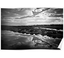 Maidment Lagoon near Bowhill Poster
