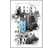 The Blue House Photographic Print