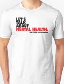 Start the Conversation - Mental Health Unisex T-Shirt