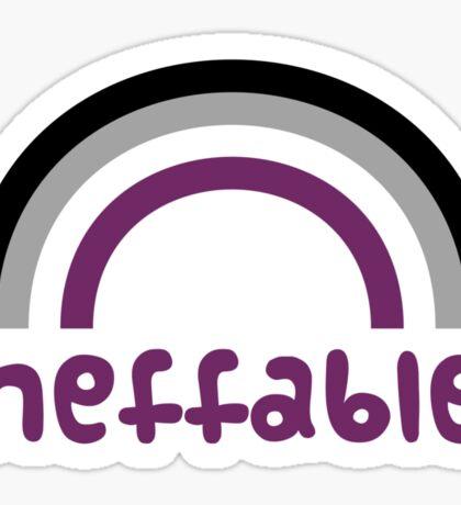 Ineffable! Sticker