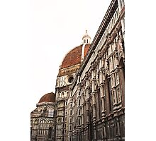 The Duomo in Florence Photographic Print