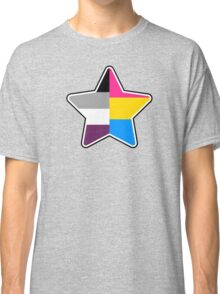 Panromantic Asexual Star Classic T-Shirt