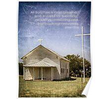 God Breathed Scripture Poster