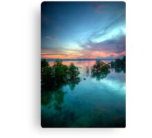 Boat Hangers Canvas Print