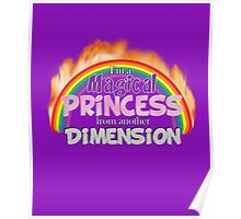 Magical Princess from another Dimension Poster