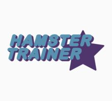 Hamster Trainer Blue/Purple Kids Tee