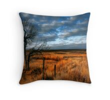 """The Lone Tree"" Throw Pillow"