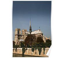 Notre Dame, Paris, France Poster