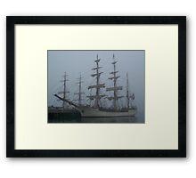 Atlantic Fog Framed Print